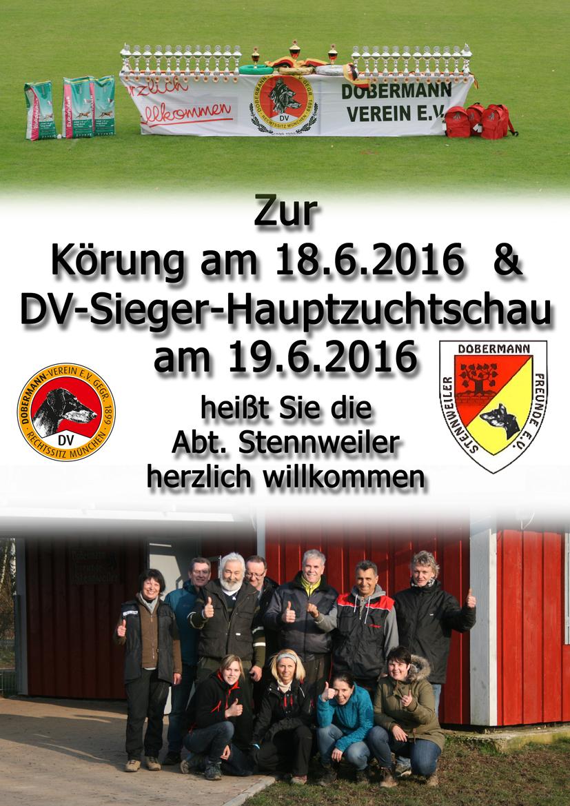 DV Sieger und Körung 2016 Seite 1 Vorab